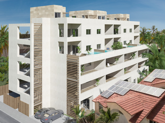 LUXURY BEACH SIDE 2 OR 3 BEDROOMS APARTMENTS LOS CORALES (BEACHG-COR)