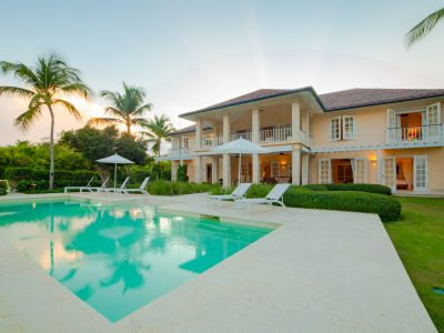 Beautiful villa in Punta Cana Resort and club